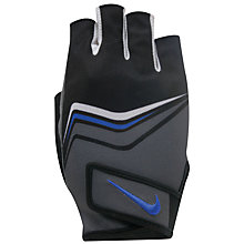Buy Nike Core Lock Training Gloves, Black/White Online at johnlewis.com