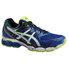 Buy Asics GEL-Pulse 6 Men's Running Shoes, Blue/Flash Online at johnlewis.com