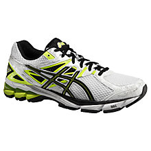 Buy Asics GT-1000 Men's Running Shoes, White/Black Online at johnlewis.com