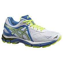 Buy Asics GT-2000 Women's Structured Running Shoes, White/Lightning Online at johnlewis.com