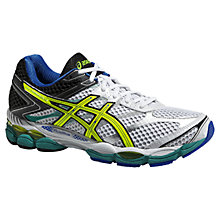 Buy Asics Gel Cumulus 16 Men's Running Shoes, White/Flash Yellow Online at johnlewis.com