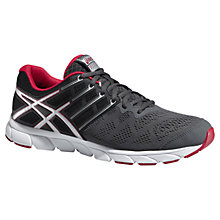 Buy Asics Gel Evation Men's Running Shoes, Graphite/Red Online at johnlewis.com