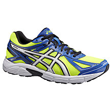 Buy Asics Patriot 7 Men's Running Shoes, Yellow/Blue Online at johnlewis.com