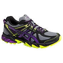Buy Asics Gel-Sonoma Women's Running Shoes, Grey/Purple Online at johnlewis.com
