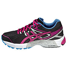 Buy Asics Gel Innovation 6 Women's Running Shoes, Onyx/Hot Pink Online at johnlewis.com