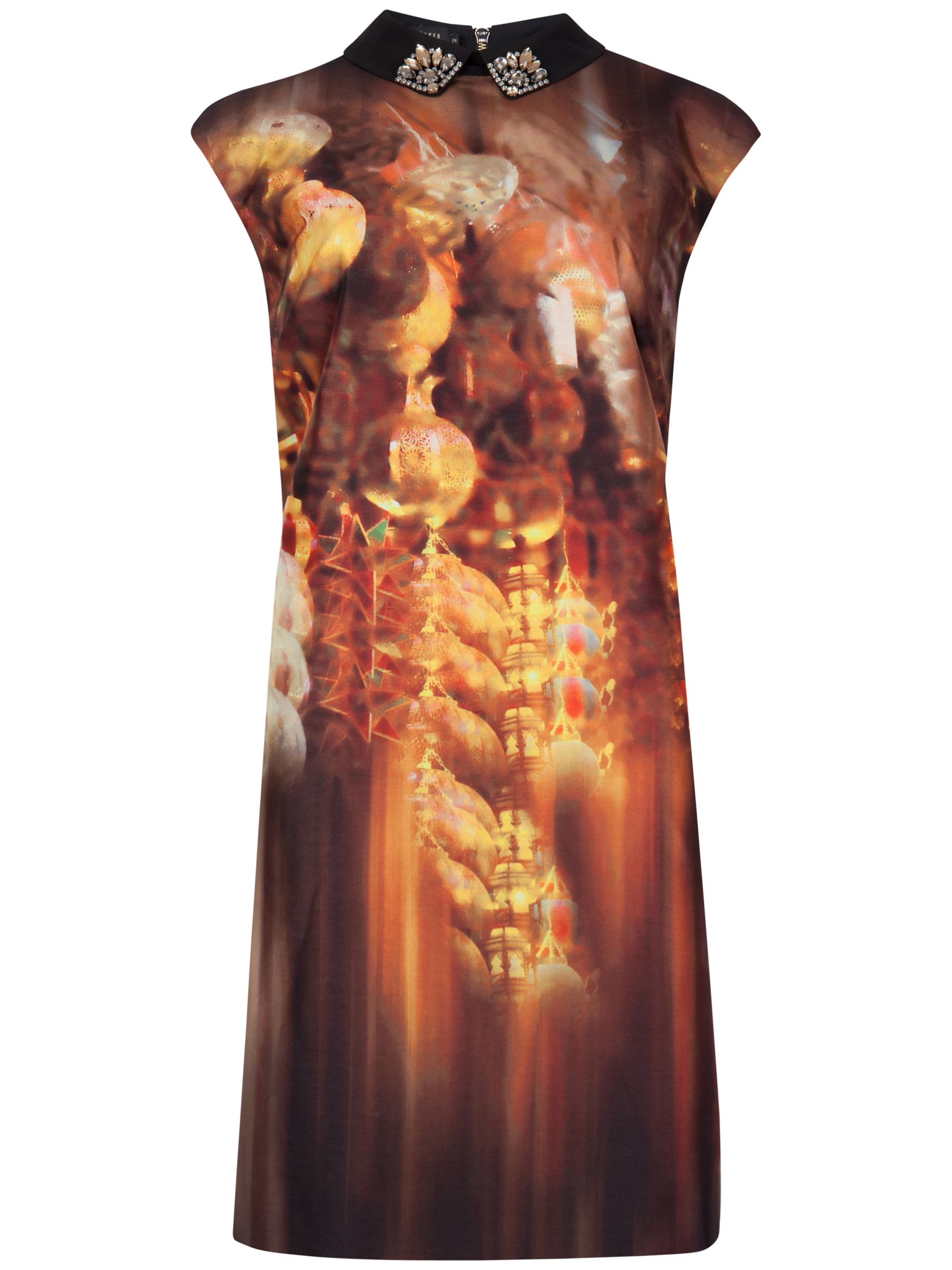 ted baker glittering trinkets tunic bronze, ted, baker, glittering, trinkets, tunic, bronze, ted baker, clearance, womenswear offers, womens dresses offers, women, womens dresses, special offers, womens tops offers, fashion magazine, womenswear, men, brands l-z, 1735441