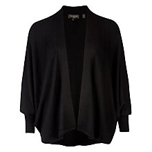 Buy Ted Baker Cocoon Shape Cardigan, Black Online at johnlewis.com