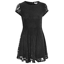Buy True Decadence Fit And Flare Lace Dress, Black Online at johnlewis.com