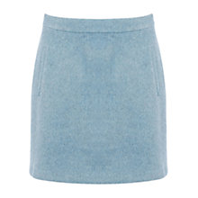 Buy Warehouse Drawn Pelmet Skirt, Light Blue Online at johnlewis.com