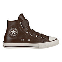 Buy Converse Chuck Taylor All Star High-Top Leather Trainers Online at johnlewis.com