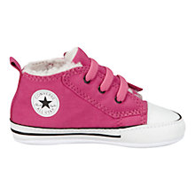 Buy Converse Baby All Star Chuck Taylor Trainers, Pink Online at johnlewis.com