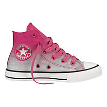 Buy Converse Chuck Taylor All Star High-Top Trainers, Cosmo Pink Online at johnlewis.com