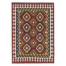 Buy John Lewis Shirvan Kelim Rug, Red Online at johnlewis.com