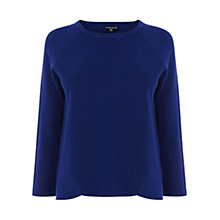 Buy Warehouse Milano Crew Jumper, Bright Blue Online at johnlewis.com