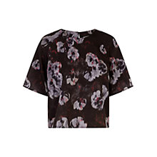 Buy Warehouse Floral Top, Multi Online at johnlewis.com
