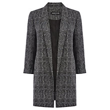 Buy Warehouse Herringbone Jacket, Grey Pattern Online at johnlewis.com