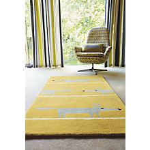 Buy Scion Mr Fox Rug, Yellow Online at johnlewis.com