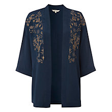 Buy White Stuff North Wind Kimono, Griffin Teal Online at johnlewis.com
