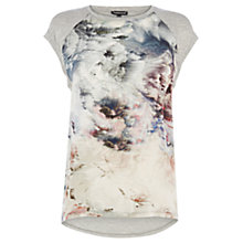 Buy Warehouse Stratospheric Top, Grey Pattern Online at johnlewis.com