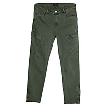 Buy Violeta by Mango Super Slim Fit Cargo Trousers Online at johnlewis.com