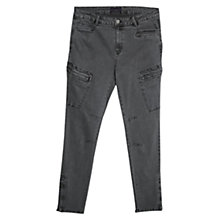 Buy Violeta by Mango Super Slim-Fit Cargo Trousers Online at johnlewis.com