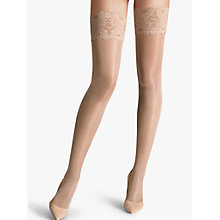 Buy Wolford Satin Touch 20 Denier Stay Ups Online at johnlewis.com