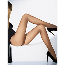 Buy Wolford Individual 10 Denier Hold-Ups, Fairly Light Online at johnlewis.com