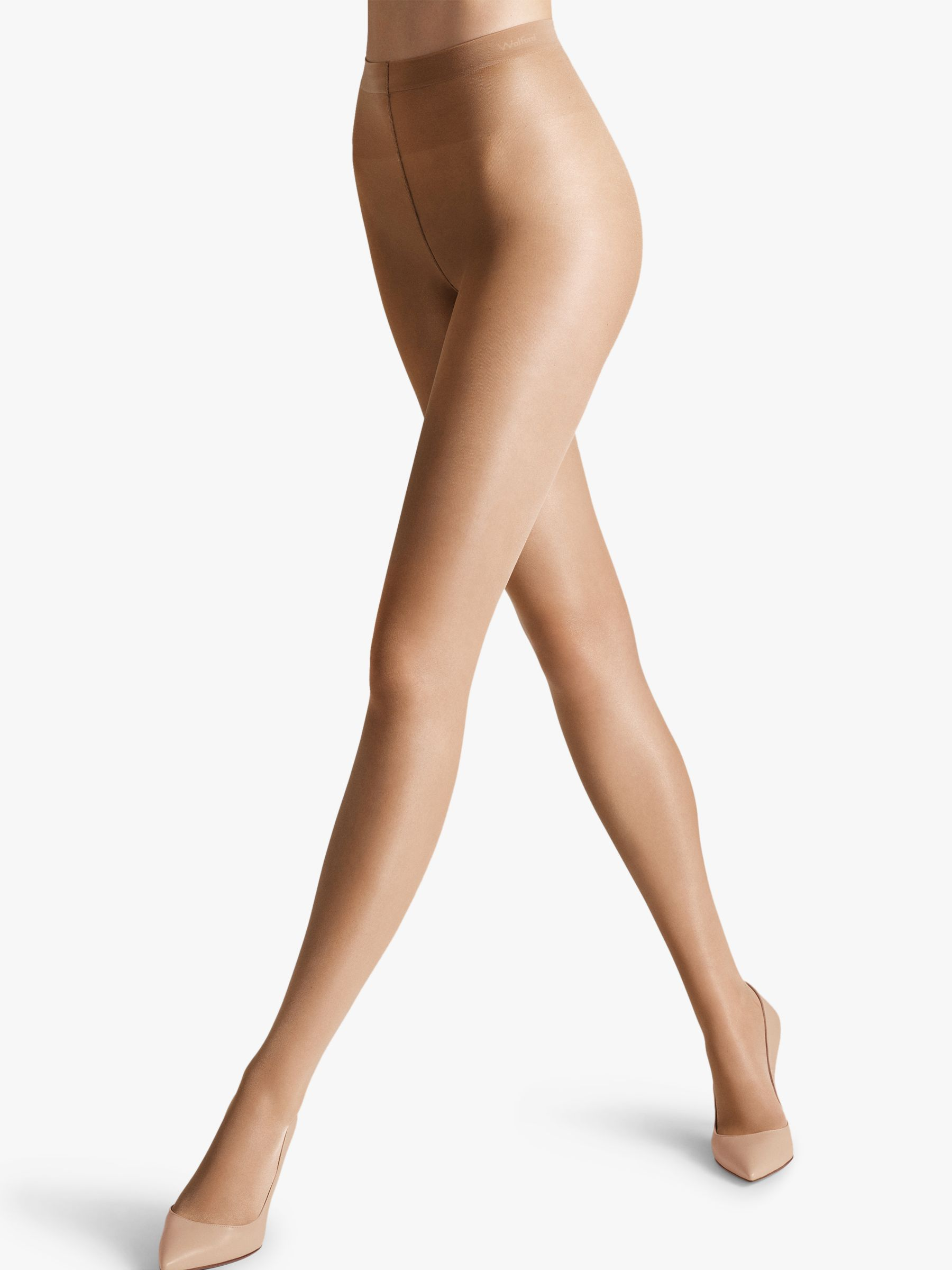 Wolford Wolford Satin Touch 20 Denier Tights, Fairly Light