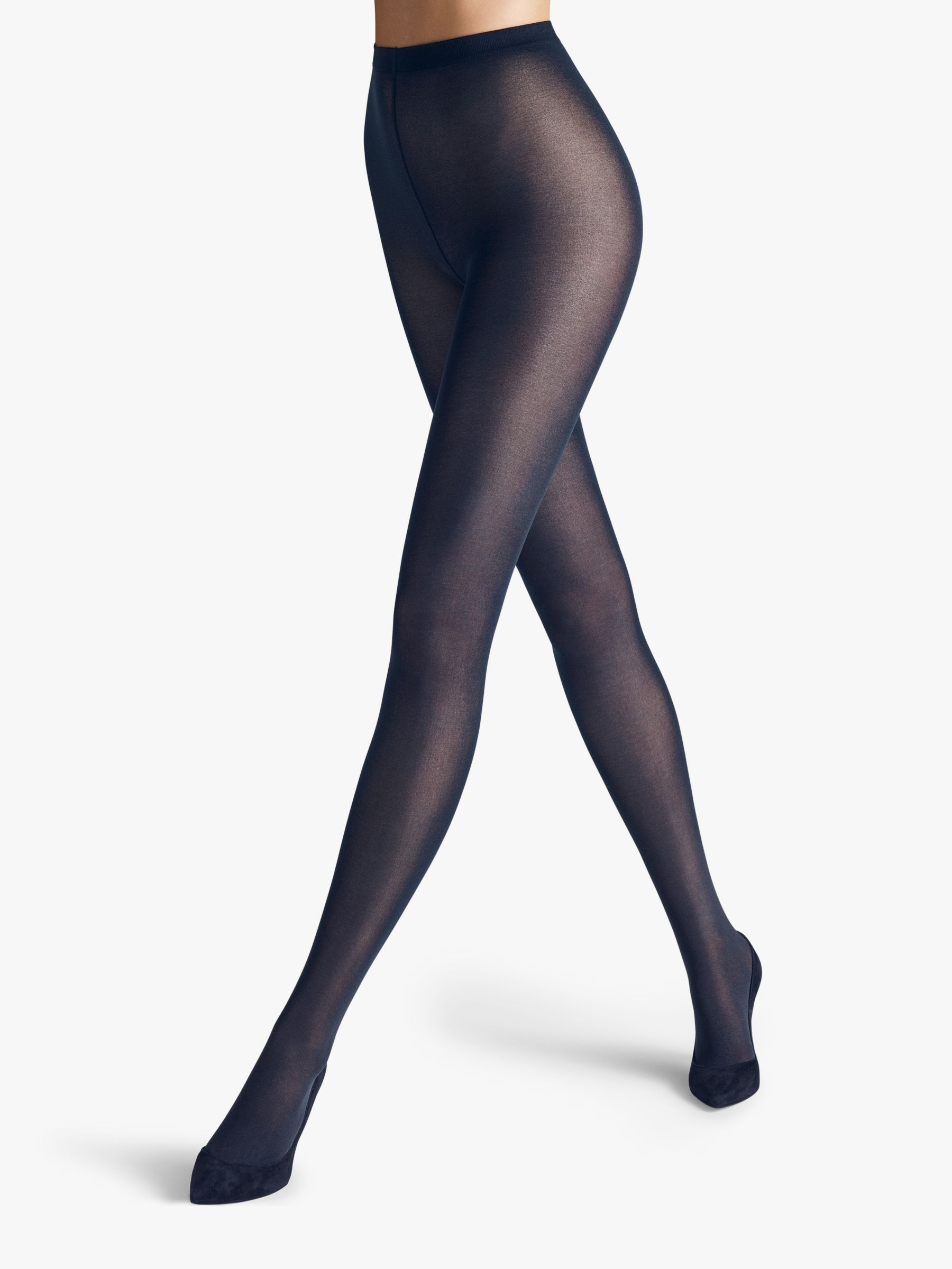 Wolford Wolford Velvet De Luxe 50 Denier Opaque Tights, Admiral