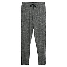 Buy Violeta by Mango Flecked Jogging Trousers, Grey Online at johnlewis.com