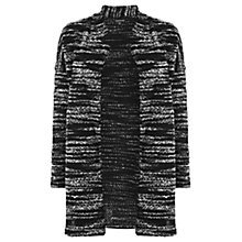 Buy Warehouse Patterned Boucle Jacket, Black Patterned Online at johnlewis.com