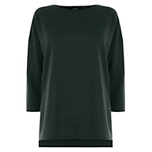 Buy Warehouse Marl Split Side Top Online at johnlewis.com
