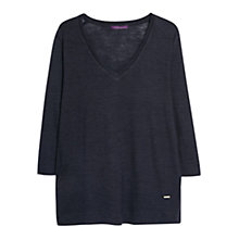 Buy Violeta by Mango Wool T-Shirt Online at johnlewis.com