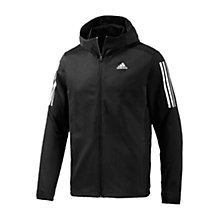 Buy Adidas Cool365 Training Hoodie, Black Online at johnlewis.com