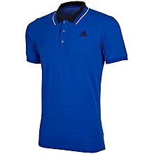 Buy Adidas Sport Essentials Polo Shirt, Blue Online at johnlewis.com