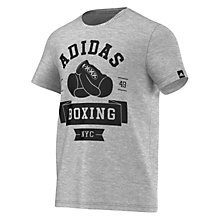 Buy Adidas Boxing Club Crew Neck T-Shirt Online at johnlewis.com
