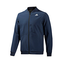 Buy Adidas Cool365 Track Jacket, Navy Online at johnlewis.com
