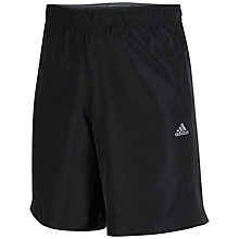 Buy Adidas Climalite Base Training Shorts, Black Online at johnlewis.com