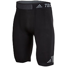 Buy Adidas Techfit Cool 9-Inch Short Tights Online at johnlewis.com