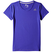 Buy Adidas Infinite Series Prime T-Shirt, Purple Online at johnlewis.com