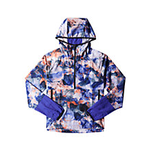 Buy Adidas Workout Anorak, Purple Online at johnlewis.com