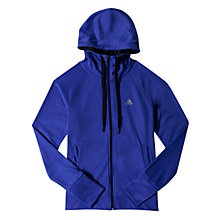 Buy Adidas Prime Climalite® Training Hoodie, Purple Online at johnlewis.com