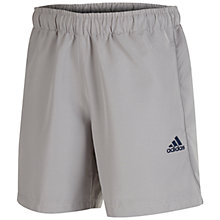 Buy Adidas Essentials Chelsea Shorts, Grey Online at johnlewis.com