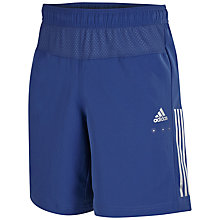 Buy Adidas Cool365 Shorts, Navy Online at johnlewis.com