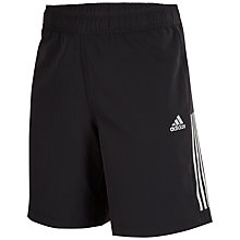 Buy Adidas Cool365 Woven Shorts, Black Online at johnlewis.com