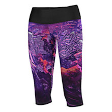 Buy Adidas 3/4 Print Pattern Tights, Multi Online at johnlewis.com