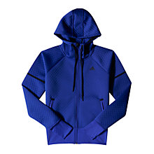 Buy Adidas Hooded Track Jacket, Night Flash Online at johnlewis.com