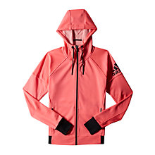 Buy Adidas Infinite Series Daybreaker Hoodie, Pink Online at johnlewis.com