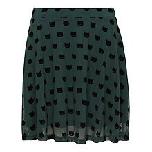 Buy Sugarhill Boutique Top Cat Skater Skirt, Green Online at johnlewis.com