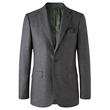 Buy Jigsaw Speckled Check Tailored Jacket, Grey Online at johnlewis.com